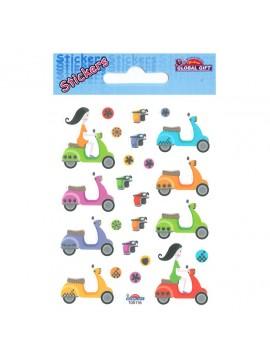 MINI* CLASSY STICKERS 7X10CM 105116