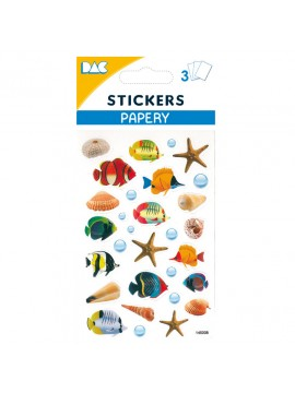 PAPERY STICKERS 8X13CM 145008