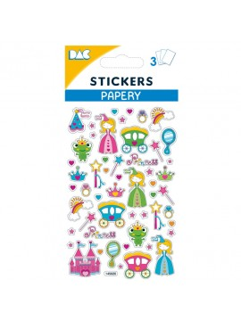 PAPERY STICKERS 8X13CM 145020