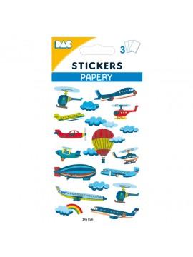 PAPERY STICKERS 8X13CM 145026