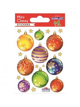 MINI CLASSY CHRISTMAS STICKERS 7.5X10CM 106536