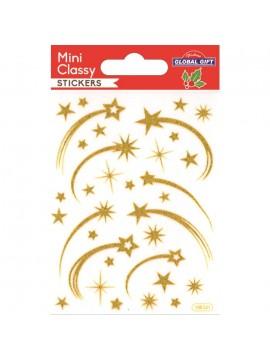 MINI CLASSY CHRISTMAS STICKERS 7.5X10CM 108521