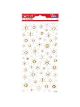 TWEENY CHRISTMAS STICKERS 9X17.5CM 270516
