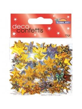 CONFETTIS DECO CHRISTMAS 15GR 360523