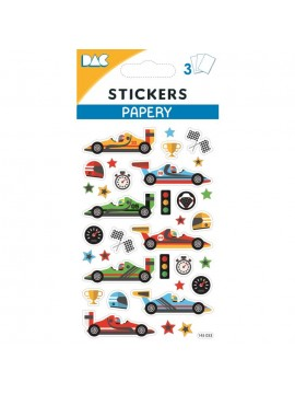 PAPERY STICKERS 8X13CM 145033