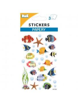 PAPERY STICKERS 8X13CM 145034