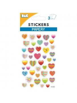 PAPERY STICKERS 8X13CM 145053