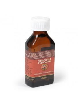 SLOW-DRYING OIL ΜΠΟΥΚΑΛΙ 100ML ΓΙΑ ΠΡΟΕΤΟΙΜΑΣΙΑ ΓΙΑ ΧΡΩΜΑΤΑ ΛΑΔΙΟΥ