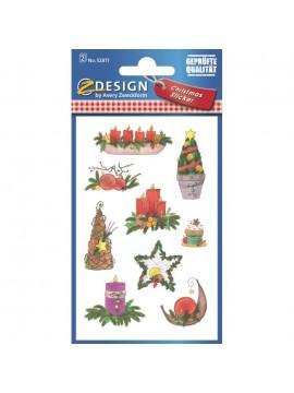CREATIVE ΕΤΙΚΕΤΕΣ CHRISTMAS 52871*