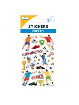 PAPERY STICKERS 8X13CM 145059