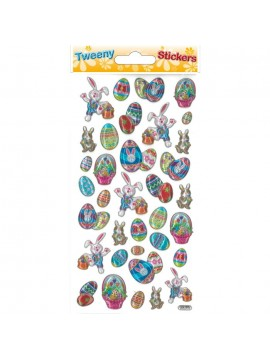 TWEENY EASTER STICKERS 9X17.5CM 270897