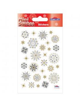 MINISWEET CHRISTMAS STICKERS 8X12CM 114545