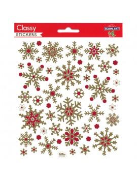 CLASSY CHRISTMAS STICKERS 15X17CM 216969