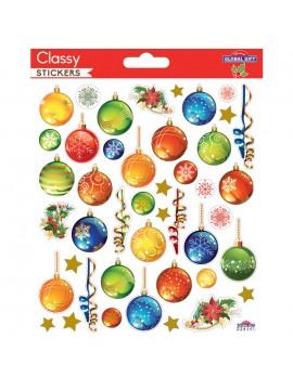 CLASSY CHRISTMAS STICKERS 15X17CM 224541