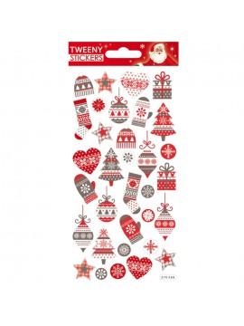TWEENY CHRISTMAS STICKERS 9X17.5CM 270568