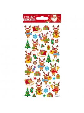 TWEENY CHRISTMAS STICKERS 9X17.5CM 270576