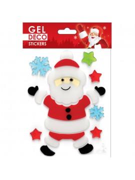 CHRISTMAS GEL STICKERS 13X17CM GN47