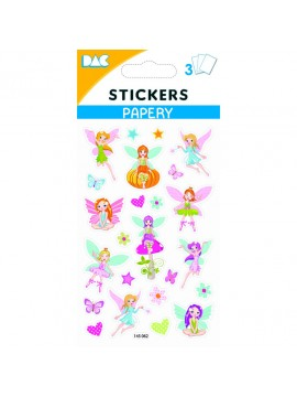 PAPERY STICKERS 8X13CM 145062