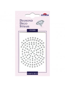 DDS DIAMOND DECO STRASS STICKERS 8X12CM 160085