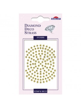 DDS DIAMOND DECO STRASS STICKERS 8X12CM 160086