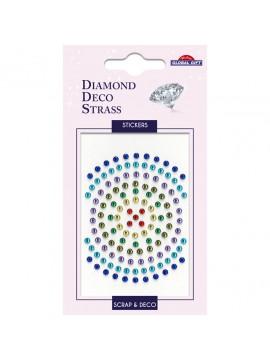 DDS *DIAMOND DECO STRASS STICKERS 8X12CM 160087