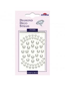DDS DIAMOND DECO STRASS STICKERS 8X12CM 160092