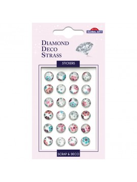 DDS DIAMOND DECO STRASS STICKERS 8X12CM 160101