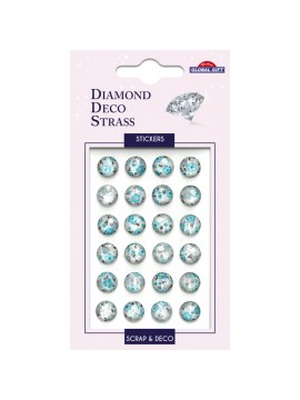 DDS DIAMOND DECO STRASS STICKERS 8X12CM 160102