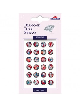 DDS *DIAMOND DECO STRASS STICKERS 8X12CM 160105
