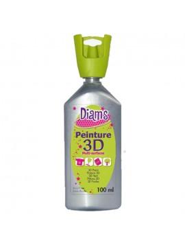 ΧΡΩΜΑΤΑ 3D DIAM'S 100ML PEARL SILVER
