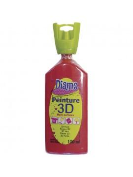 ΧΡΩΜΑΤΑ 3D DIAM'S 100ML BRILLIANT ROUGE
