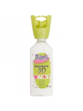 ΧΡΩΜΑΤΑ 3D DIAM'S 37ML BRILLIANT WHITE
