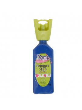 ΧΡΩΜΑΤΑ 3D DIAM'S 37ML BRILLIANT NAVY BLUE
