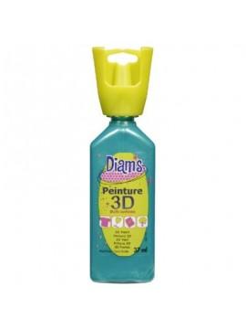ΧΡΩΜΑΤΑ 3D DIAM'S 37ML PEARLY TROPICAL BLUE