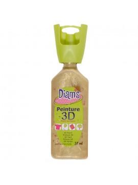 ΧΡΩΜΑΤΑ 3D DIAM'S 37ML PEARLY GOLD SAND