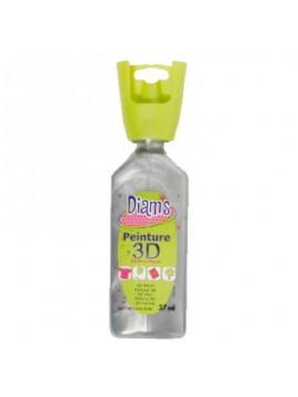ΧΡΩΜΑΤΑ 3D DIAM'S 37ML PEARLY SILVER