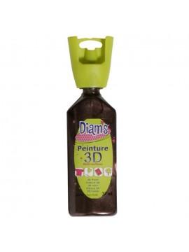 ΧΡΩΜΑΤΑ 3D DIAM'S 37ML PEARLY CHOCOLAT