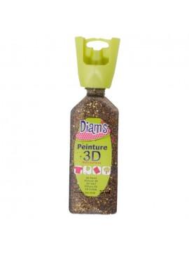 ΧΡΩΜΑΤΑ *3D DIAM'S 37ML GLITTER NOUGATINE
