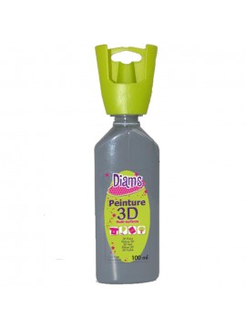 ΧΡΩΜΑΤΑ 3D DIAM'S 37ML BRILLIANT GREY