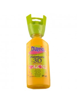 ΧΡΩΜΑΤΑ *3D DIAM'S 37ML BRILLIANT YELLOW SUNFLOWER