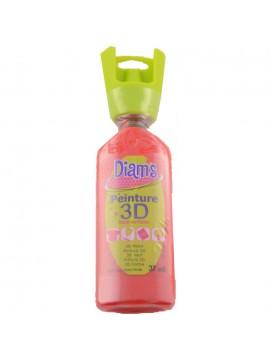 ΧΡΩΜΑΤΑ 3D DIAM'S 37ML BRILLIANT RED POPPY