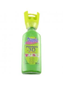ΧΡΩΜΑΤΑ 3D DIAM'S 37ML BRILLIANT GREEN AVOCADO