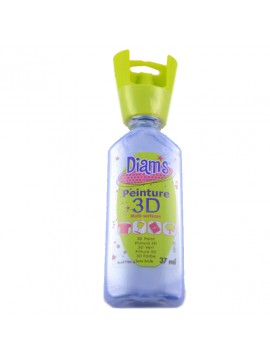 ΧΡΩΜΑΤΑ *3D DIAM'S 37ML PEARLY BLUE POLAIRE