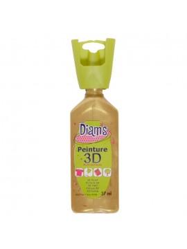 ΧΡΩΜΑΤΑ 3D DIAM'S 37ML PEARLY GOLD