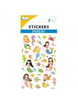 PAPERY STICKERS 8X13CM 145071