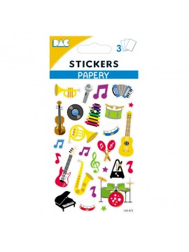 PAPERY STICKERS 8X13CM 145072