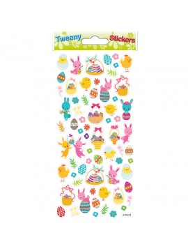 TWEENY EASTER STICKERS 9X17.5CM 270974