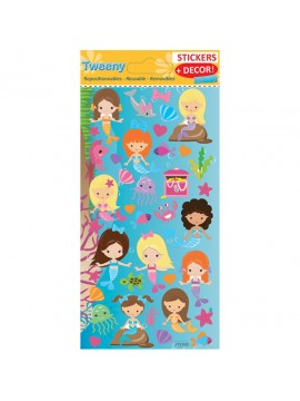 TWEENY DECOR STICKERS 9X17.5CM 272020