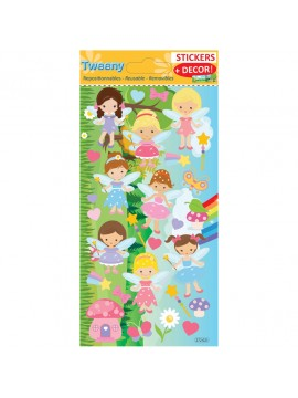 TWEENY DECOR STICKERS 9X17.5CM 272021