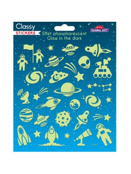 CLASSY GLOW STICKERS 15X17CM 215001